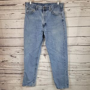 Carhartt Relaxed Fit Medium Wash Blue Jeans